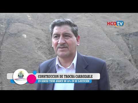 CONSTRUCCION DE TROCHA CARROZABLE EN KICHCKI