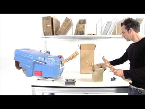 PadPak Compact - papierpolster Tischgerät (Füllmaterial, Verpackung)