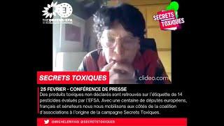 Secrets toxiques: contre les failles de l'évaluation des pesticides de l'EFSA