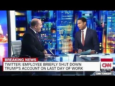 TRUMP's Twitter Account Deleted By Employee - CNN