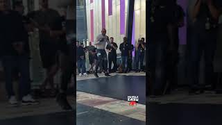 """Anderson """"The Spider"""" Silva During UFC 234 Open Workouts"""