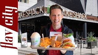 Shake Shack Menu Review - Including Gluten Free & Low Carb Options!