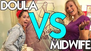 DOULA VS MIDWIFE - What you NEED to Know!
