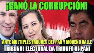 ¡GANÓ LA CORRUPCIÓN! TRIBUNAL ELECTORAL DA TRIUNFO AL PAN EN PUEBLA Y ASESTA REVÉS A AMLO