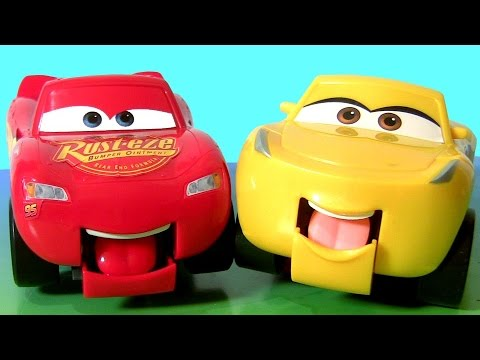 Disney Pixar Cars 3 Funny Talkers Cruz Ramirez & Lightning McQueen Car Toys for Kids by TOYS CLUB
