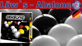 Löw lässt spielen - Abalone - Kugeln schubsen