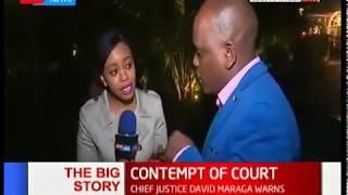CJ Maraga's warning after police failed to release Miguna Miguna: The Big Story