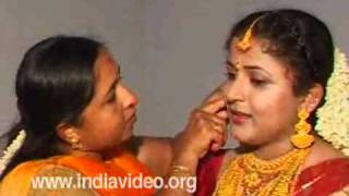 Bridal make-up in Hindu marriage