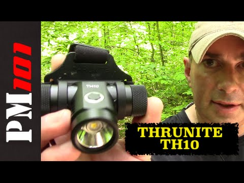 Thrunite TH10 Headlamp (and why I don't like hiking-style headlamps) – Preparedmind101