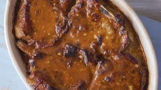 Chutney Mayo Pork Chops