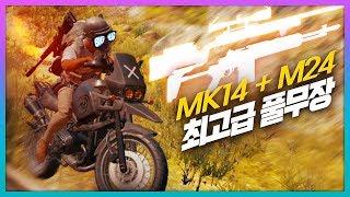 [배틀그라운드] 빅헤드 - 『 MK14 + M24 』 무적조합