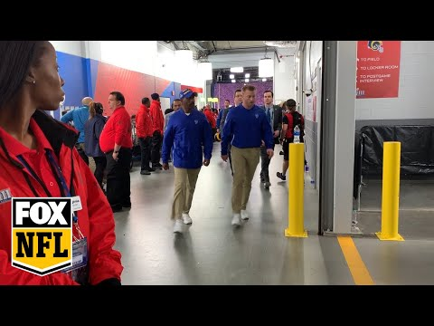 Watch the Rams leave the field after their heartbreaking Super Bowl LIII loss   FOX NFL