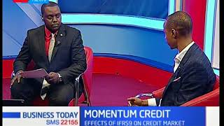 Momentum credit: Effects of IFRS9 on credit market