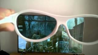 Video de demonstração Dual View com oculos 3D