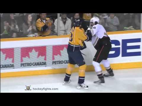 George Parros vs Brian McGrattan