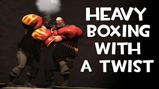 TF2 - Heavy Boxing But Loser Has To Craft Hats