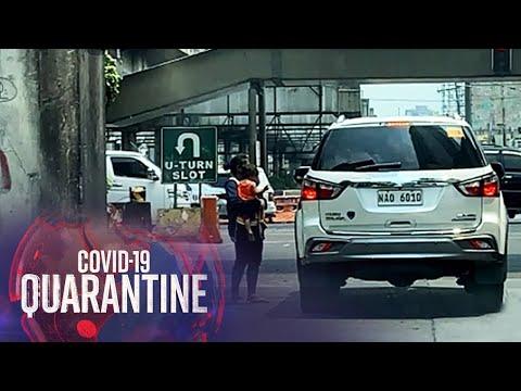 [ABS-CBN]  Mga nanlilimos naglipana sa mga pangunahing kalsada sa QC | Teleradyo