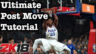 NBA 2K18 Low Post Tutorial: How to Post Spin 2K18 How to get badges: Post Spin Badge #20