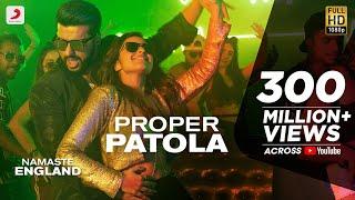 Proper Patola   Official Video | Namaste England | Arjun | Parineeti | Badshah | Diljit | Aastha