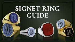 Mens Signet Ring Primer -  How To Find Rings For Men