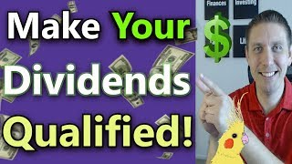 Qualified Dividends Fully Explained (How To Pay Less Tax On Dividends) |Dividend Income Investing