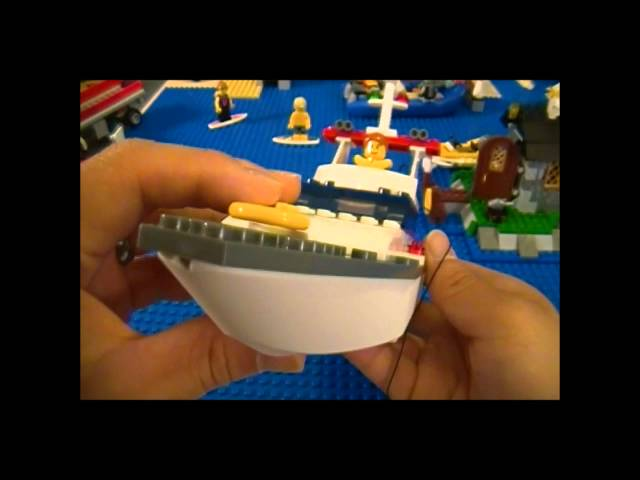 Lego 4642 Review Fishing Boat City Harbour