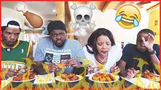 THE BLAZIN' WING CHALLENGE!