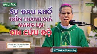 Sự đau khổ trên thánh giá mang lại ơn cứu độ - ĐTGM Giuse Nguyễn Năng