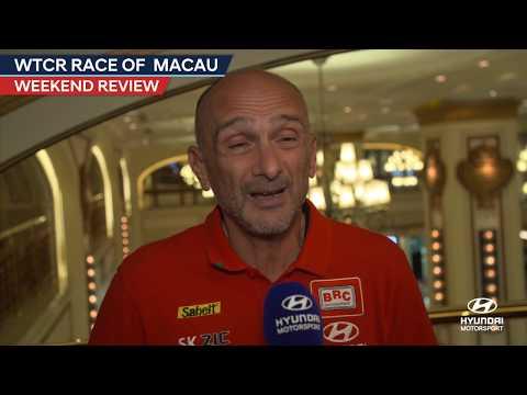 FIA WTCR Race of Macau Review - Hyundai Motorsport 2018