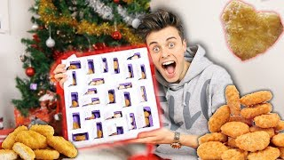 CHICKEN NUGGET ADVENT CALENDAR 2017! | *FREE!*