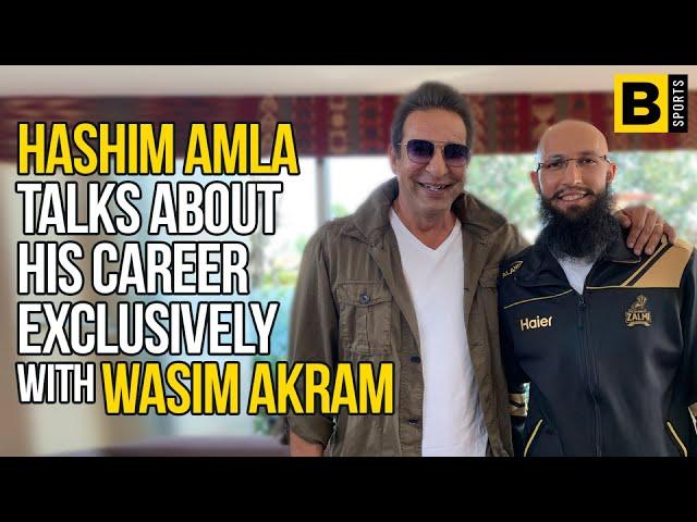 Sawaal Cricket Ka with Wasim Akram Ep#5 - Peshawar Zalmi Batting Mentor Hashim Amla