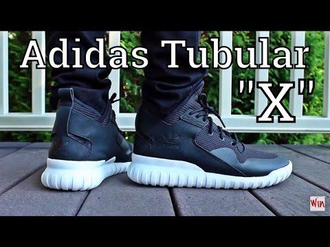 """Styled & Profiled - The Adidas Tubular X """"Black/White"""" On Feet"""
