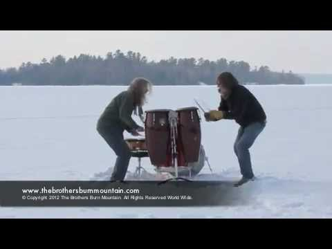 Frozen Lake Drum Jam