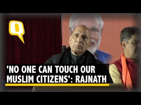 'No One Can Touch Our Muslim Citizens': Rajnath Singh's Assurance on CAA