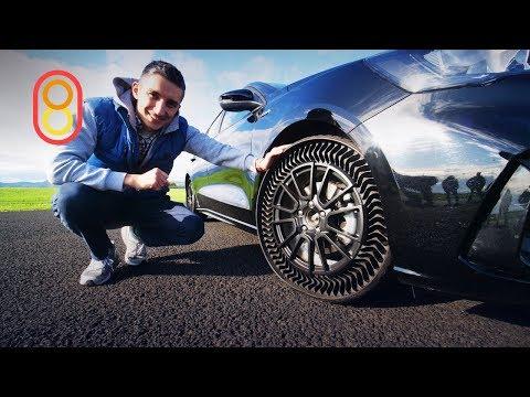 Это Michelin Uptis — шины БЕЗ ВОЗДУХА