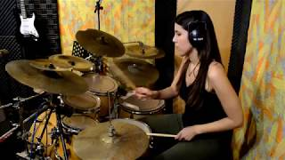 "Anna Eleftherou - ""Nobody's Wife"" by Anouk (drum play-along)"