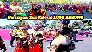 🔴 Persiapan Tari Kolosal 1 000 Barong Kabupaten Kediri