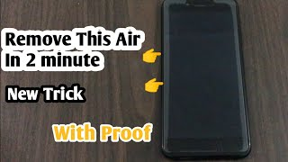 Remove Rainbow Effect (Side Air Effect) in SmartPhone  New Trick   TechnoTalk