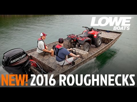 Lowe Boats – 2015 Roughneck Hunting & Fishing Jon Boats