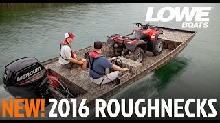 Lowe 2015 Roughneck Series Video