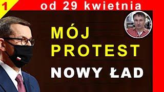 Zbigniew Kękuś (PPP 310) Mój protest od 29 kwietnia 2021 r. NOWY ŁAD