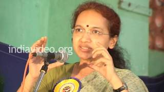 Speech by Nalini Netto in Cotton Hill, Thiruvananthapuram