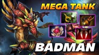Badman Bristleback - MEGA TANK - Dota 2 Pro Gameplay