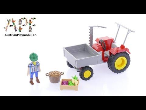 Vidéo PLAYMOBIL Country 6131 : Fermier avec faucheuse