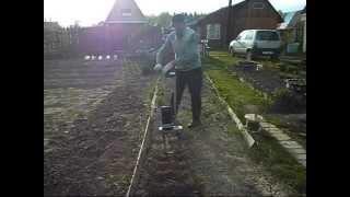 Электрокультиватор для дачи и огорода видео