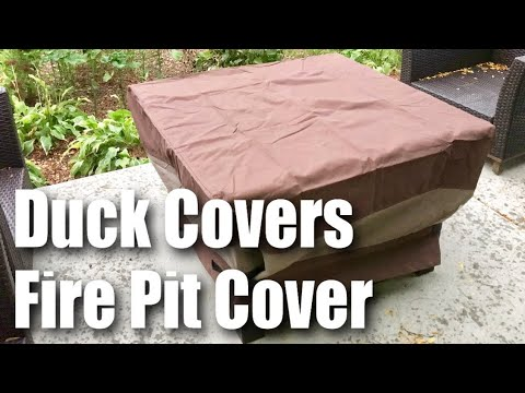50 Inch Fire Pit Cover Product Video