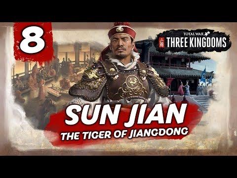 BRING DOWN THE WALLS! Total War: Three Kingdoms - Sun Jian - Romance Campaign #8