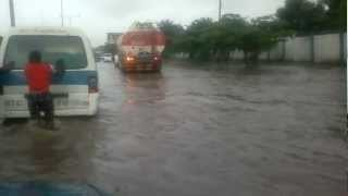 preview picture of video 'Rain Flooding  Port Harcourt.mp4'
