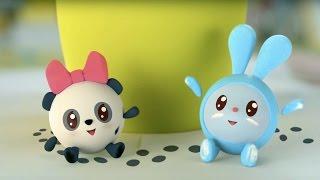Малышарики - Неизвестные следы (5 серия) | Развивающие мультфильмы для самых маленьких 1,2,3,4 года