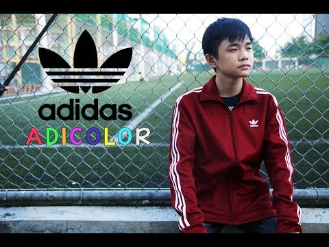 ADICOLOR 2018: ADIDAS RED TRACK PANTS AND TRACK JACKET